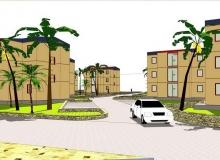 Modular building - Acra, GHANA